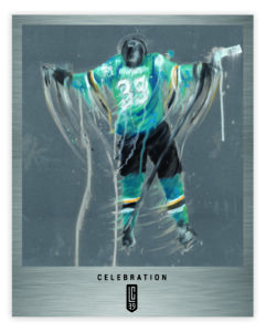 "Limited edition ""Celebration"" print on stainless steel by London artist Scott Kish"